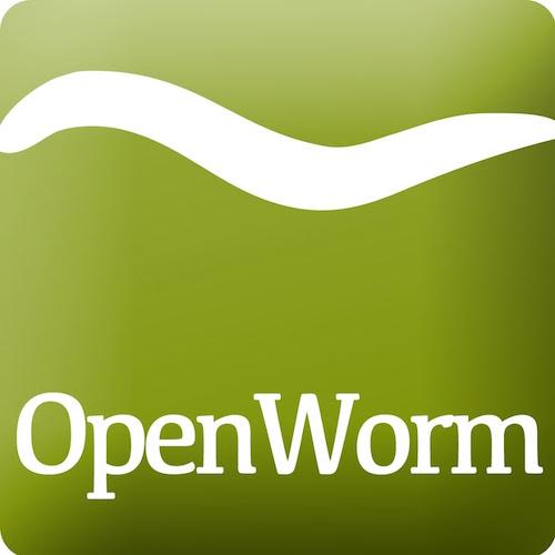 Logo open worm